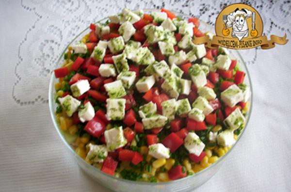 Moja grecka sałatka