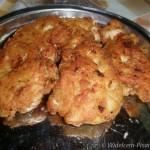 Kotleciki z piersi z kurczaka z czosnkiem