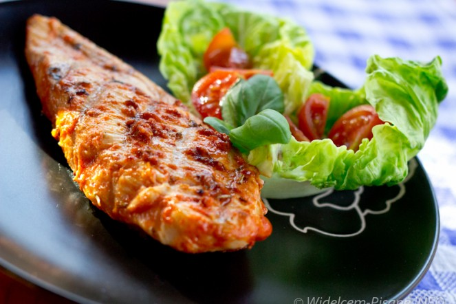 Pikantny kurczak z grilla