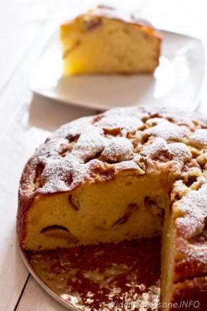 Ekspresowe ciasto owocowe