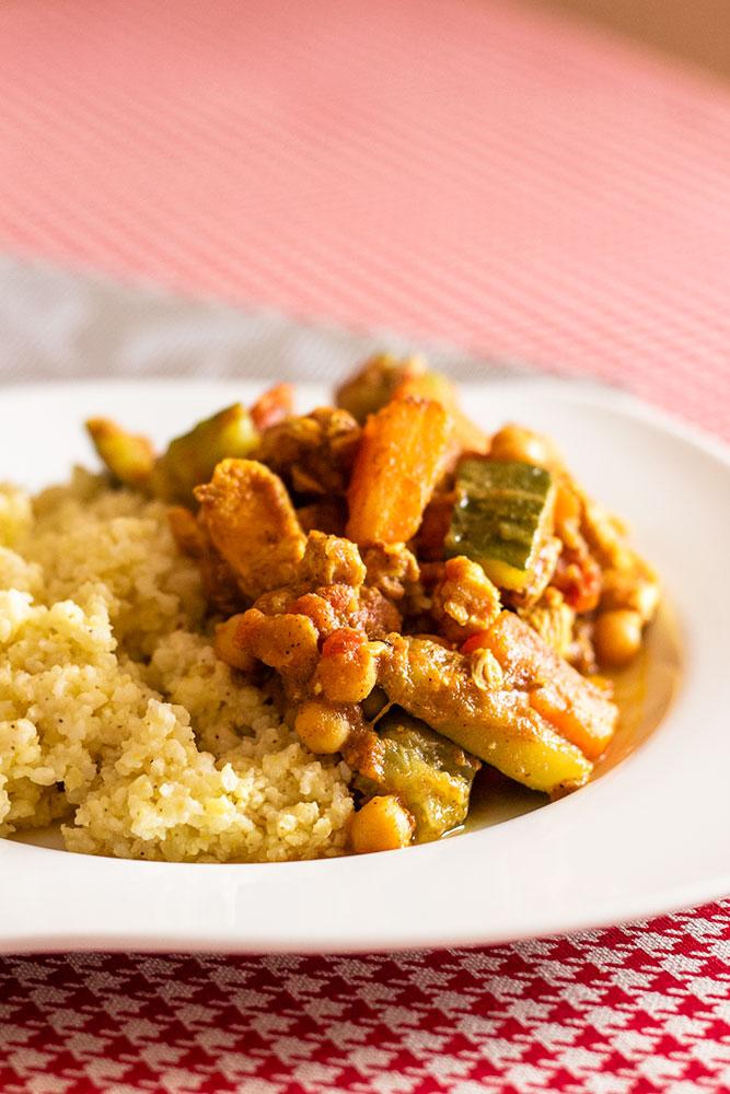 Kurczak marokański